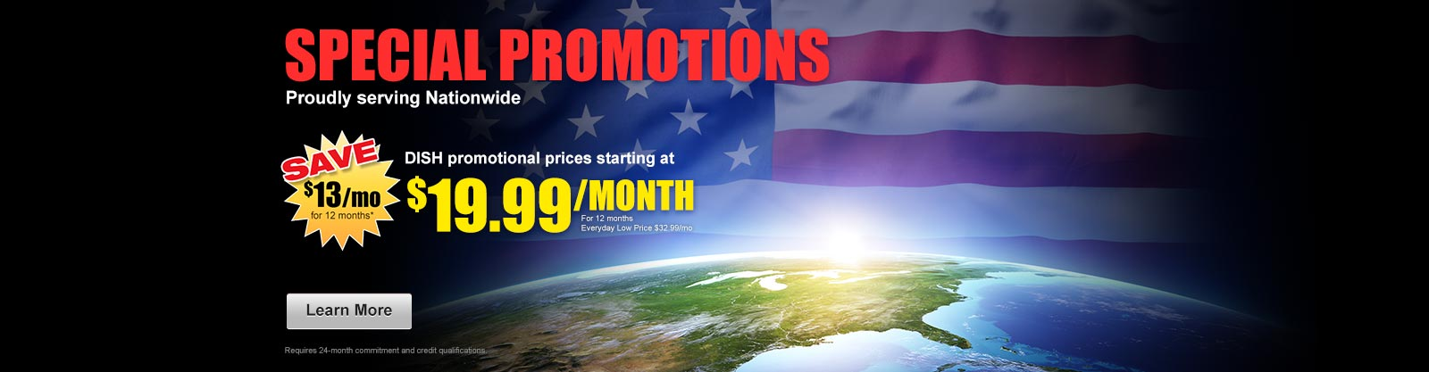 Special Promotions, Nationwide, Dish Network, Cable TV, satellite TV, DishNet,Dish Network